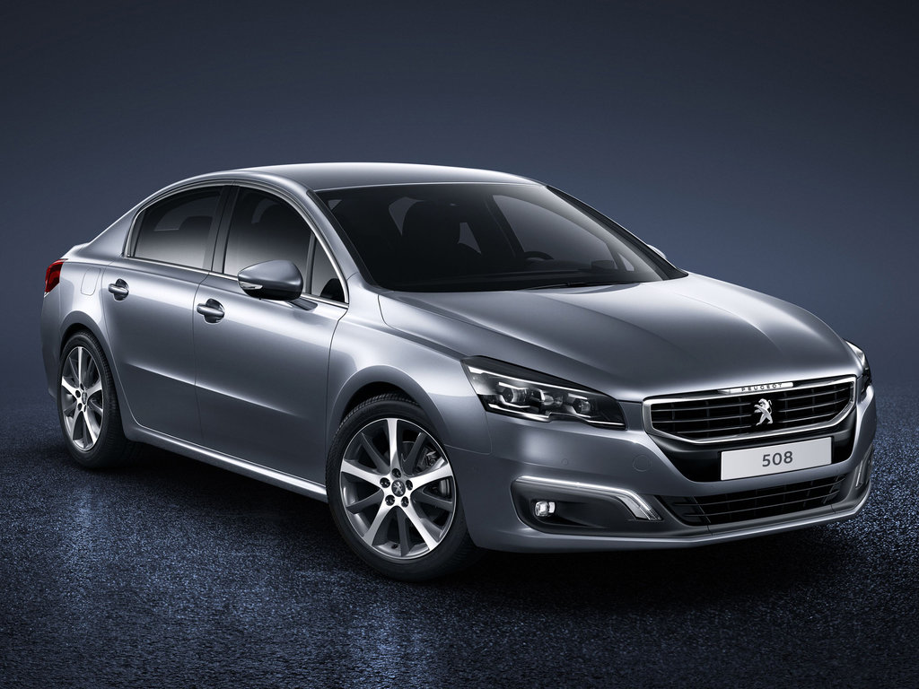 New cars for sale PEUGEOT 508 for export from Russia